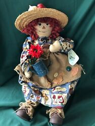Country Creations - 22 Primitive Raggedy Doll