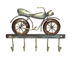 Iron Bike Key Hanger for Wall decor of Home and Office