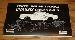 1967 Ford Mustang Chassis Assembly Manual 67