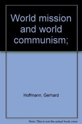 World Mission And World Communism Hardback Book The Fast Free Shipping