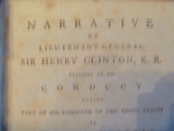 1783 Lieutenant General Sir Henry Clinton Re Kingand039s Troops In North America 1st