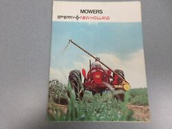 New Holland 451 And 456 Mowers Sales Brochure 6 Pages