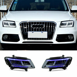 For Audi Q5 Led Headlights Projector Hid Led Drl 2009-2018 Replace Oem Halogen