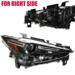 For 17-20mazda Cx-5 Full Led W/afs Projector Headlight Install On The Right Side