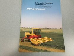 New Holland 1100, 1116 And 1495 Self-propelled Windrowers Sales Brochure 16 Pages