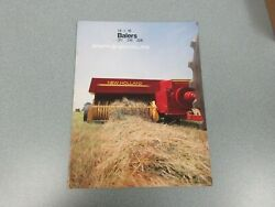 New Holland 311, 316 And 326 Balers 14x18 Sales Brochure 16 Pages