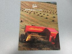 New Holland 426 Baler 16x18 Sales Brochure 8 Pages