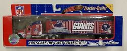 Limited Edition New York Giants Tractor Trailer 180 Scale Diecast Collectable