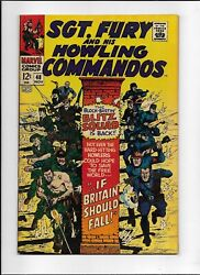 Sgt. Fury And His Howling Commandos 48 1967 Fn/vf 7.0