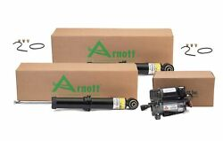 Arnott Rear Shock Absorbers And Compressor Kit For Audi Allroad Quattro A6 C5 Code