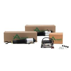 Arnott Front Air Suspension Strut And Compressor Kit For Audi A8 Quattro S8 Gas