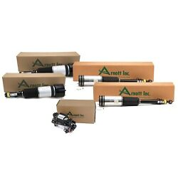 Arnott Front Rear Air Susp Struts And Compressor Kit For Mb W220 S-class Airmatic