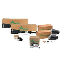 Arnott Front Air Struts And Springs Compressor Valve Unit Kit For Benz W164 X164