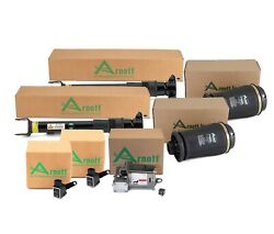 Arnott Reman Rear Air Shock And Springs Compressor And Sensor Kit For Mb X164 W164