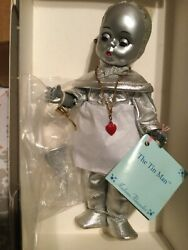 Vintage Madame Alexander 8andrdquo Tin Man Wizard Of Oz Oil Can Red Heart Hat Tags New
