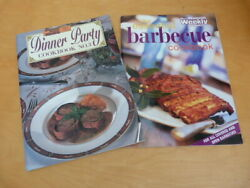2 Australian Women's Weekly Cook Books Barbeque Cooking And Dinner Party No 3