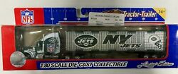 Nfl Football Semi Truck Tractor Trailer Hauler Collectible New York Jets