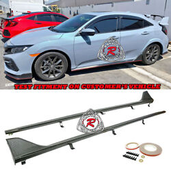 Tr-style Side Skirts