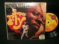 Curtis Mayfield - Super Fly 7 Jukebox Mini-lp W/strips