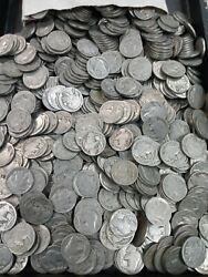 Huge Lot Of 500 Mixed Dateless And Culls Indian Head Buffalo Nickels I768
