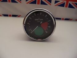 R20 - Genuine Smiths Large Green Spot Rev Counter/tacho Tachometer - Recondition