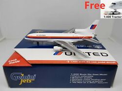 Rare1400 Gemini Jets United Airlines Lockheed L-1011 N514pa+free Tractor