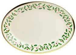 New Lenox Holiday Platter 13 Made In Usa. Authorized Dealer