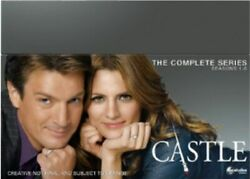 Castle Seasons 1 To 8 Complete Collection Dvd [uk] New Dvd
