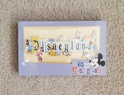 Disneyland Park 65th Anniversary Marquee Boxed Jumbo Pin Limited Ships Today
