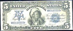 1899 5 Silver Certificate-indian Chief-fr278