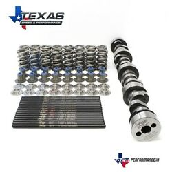 Texas Speed Dual Spring Cam Package -cathedral Port Heads Inc Gaskets + Arp Bolt