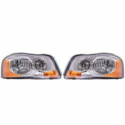 Valeo Pair Set Of 2 Front Hid Xenon Headlights Lamps For Volvo Xc90 2003-2014