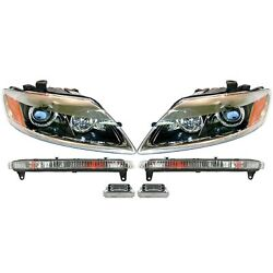 Valeo Xenon Headlight Turn With Signal Lights And Hid Lighting Ballast Kit For Q7