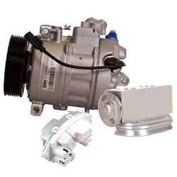 Valeo A/c Compressor And Expansion Valve And Blower Motor Resistor Kit For E92 F30