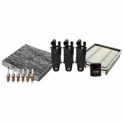 Denso Ignition Tune Up 6 U-groove Spark Plugs Kit For Lexus Gs300 3.0l L6 Rwd