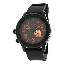 New Unused Nixon A036578 Watch Black Menand039s Wristwatch Ship From Japan No.92