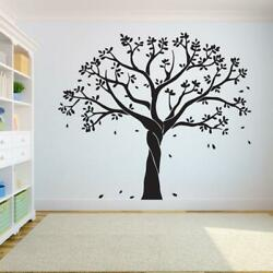Tree Wall Decal Sticker Bedroom Tree Of Life Roots Birds Flying Away Home Decor
