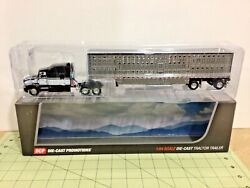 1/64 Dcp Kenworth T660 And Wilson Spread Axle Cattle Pot Trailer Free Shipping