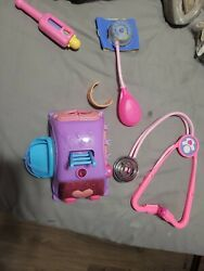 Doc Mcstuffins Get Better Talking Mobile Clinic Cart Hospital Toy- Good Used