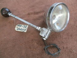 Early 1930and039s Thompson 4 Inch Spotlight With Split Bakelite Turning Knob