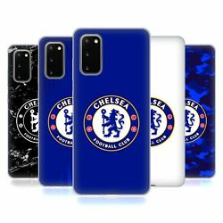 Official Chelsea Football Club Crest Soft Gel Case For Samsung Phones 1