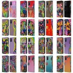 Official Dean Russo Dogs 3 Leather Book Wallet Case Cover For Oppo Phones