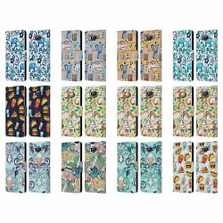 Official Micklyn Le Feuvre Patterns 2 Leather Book Case For Samsung Phones 2