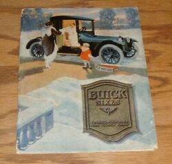 Original 1916 Buick Sixes Touring Roadster And Closed Car Sales Brochure 16
