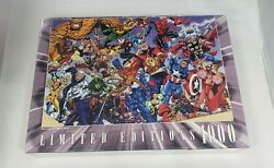 Marvel Universe Limited Editions Comics Jigsaw Puzzle 1000 Pieces Brand New