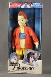 Equity Toys Talking Doll Pinocchio Jonathan Taylor Thomas And Poster 1996 Works