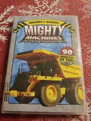 Mighty Machine Diggers Dozers Dvd, 2006used