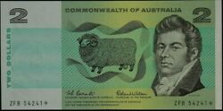 1966 2 Note Star Note Coombs/wilson R81s Uncirculated