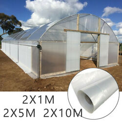 Clear Plastic Film Thickness Greenhouse Polytunnel Covering Garden Plant Cover