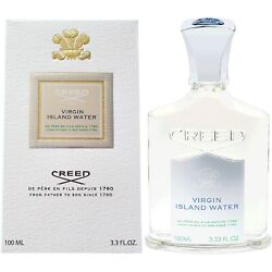Creed Virgin Island Water 100ml 3.3oz Authentic Fast Brand New Bottle Topscents